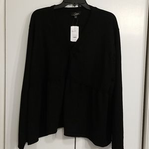 Black Button Down Sweater